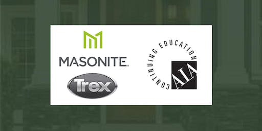 Woodhaven 2019 CE Series: Masonite  & Trex Present 2 AIA Classes on Sep 10