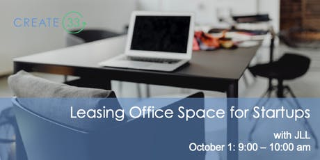 Leasing an Office Space for Startups tickets