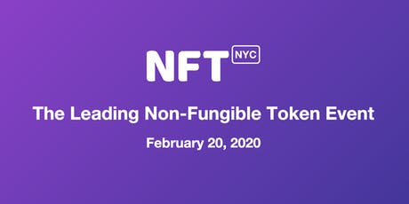 NFT.NYC - The Leading Non-Fungible Token Event tickets