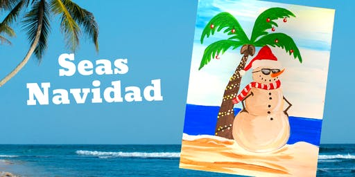 Brews and Brushes- Seas Navidad