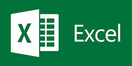 Excel Basics Part I (September) tickets