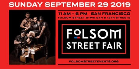 Volunteer for FOLSOM STREET FAIR 2019 tickets