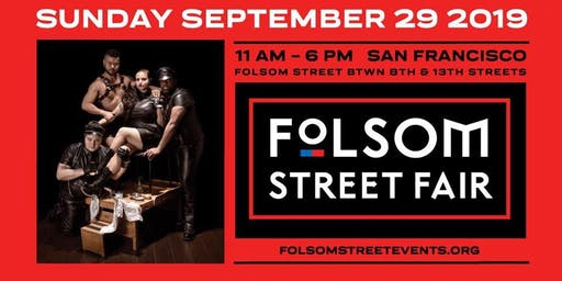 Volunteer for FOLSOM STREET FAIR 2019