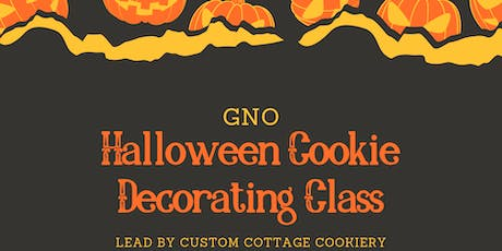 GNO-Halloween Cookie Decorating Class tickets