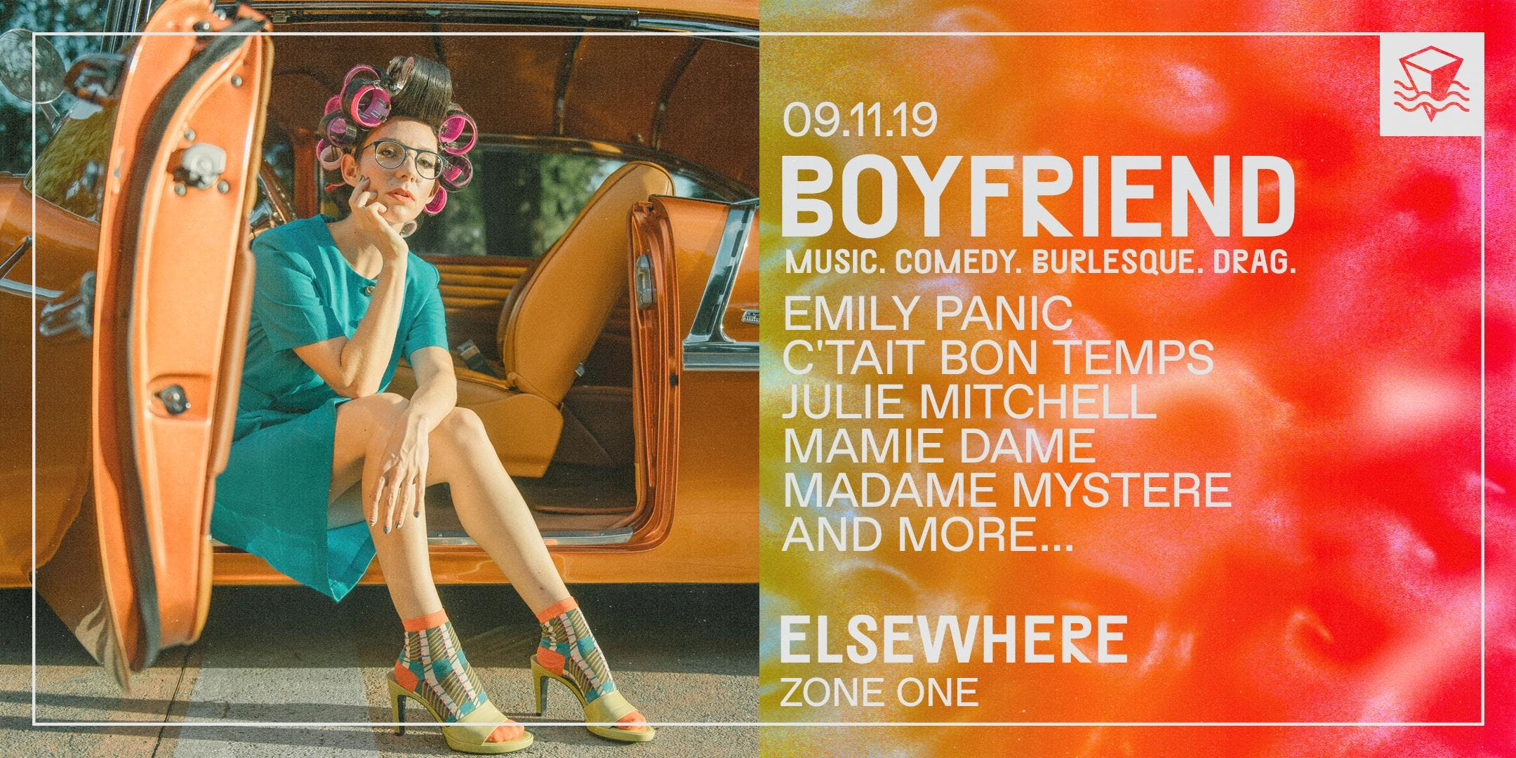 Boyfriend Presents: A Night of Burlesque, Comedy, Drag and Music! Featuring Host Emily Panic, with Performances by C'etait Bon Temps and More!