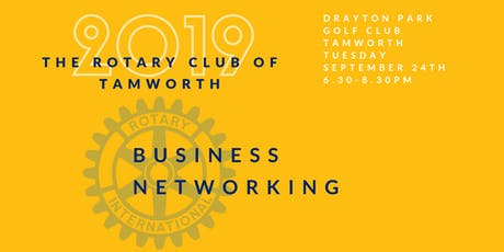 ROTARY Club of Tamworth Business Networking tickets