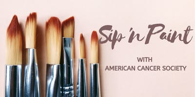 Sip 'n Paint With The American Cancer Society