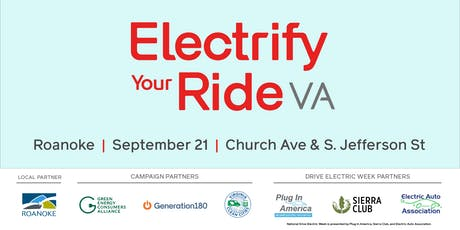 Electrify Your Ride VA: Roanoke  tickets