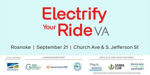 Electrify Your Ride VA: Roanoke