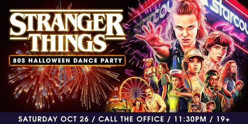 Stranger Things 80's Halloween Dance Party