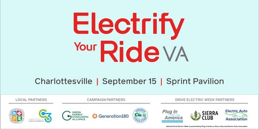 Electrify Your Ride VA: Charlottesville