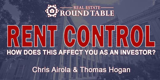 RENT CONTROL – How does this affect you as an Investor?