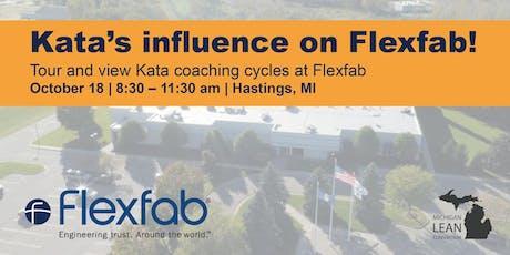 Kata's Influence of Flexfab tickets
