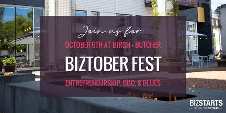 BizTober Fest - An evening of Entrepreneurship, BBQ and Blues tickets