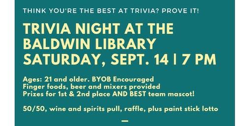 Trivia Night @ the Baldwin Library