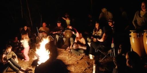 Raising Vibrations: Fire-Drum-Talking-Circle