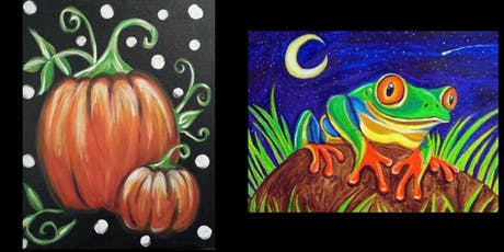 Painter's Choice...Pumpkins and Frogs tickets