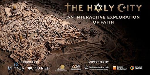 Director Talk w/ Nimrod Shanit, The Holy City VR @ Raindance Film Festival