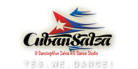 6wk Cuban Salsa Dance class in Atlanta @ Dancing4Fun Salsa ATL Studio  tickets