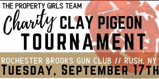 The Property Girls Team Charity Clay Pigeon Tournament