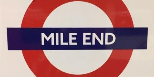 Mile End Meander – One Step beyond the City