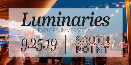 Luminaries' End of Summer Social tickets