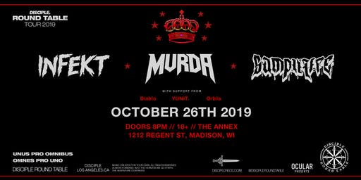 INFEKT, MVRDA, SAMPLIFIRE at The Annex