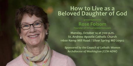 How to Live as a Beloved Daughter of God tickets
