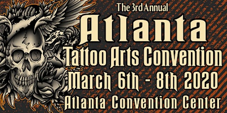 The 3rd Annual Atlanta Tattoo Arts Convention tickets