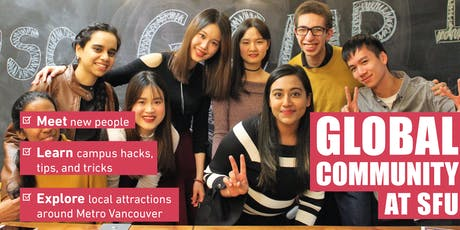 Global Community @ SFU - Fall 2019 tickets