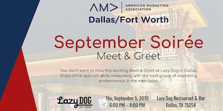 September AMA DFW Meet & Greet tickets