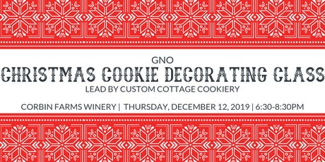 GNO-Christmas Cookie Decorating Class tickets