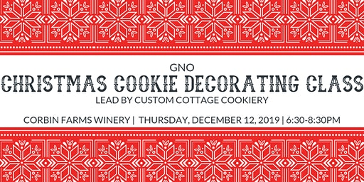 SOLD OUT! GNO-Christmas Cookie Decorating Class