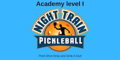 Night Train Pickleball Academy Level I tickets