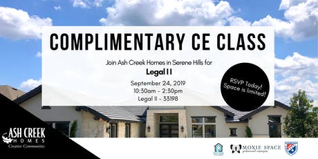 Complimentary CE Class - Legal II tickets