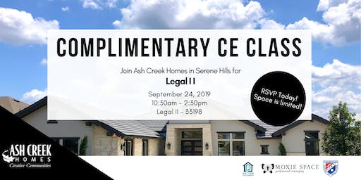 Complimentary CE Class - Legal II