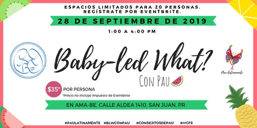 Baby-led What? en Ama-be