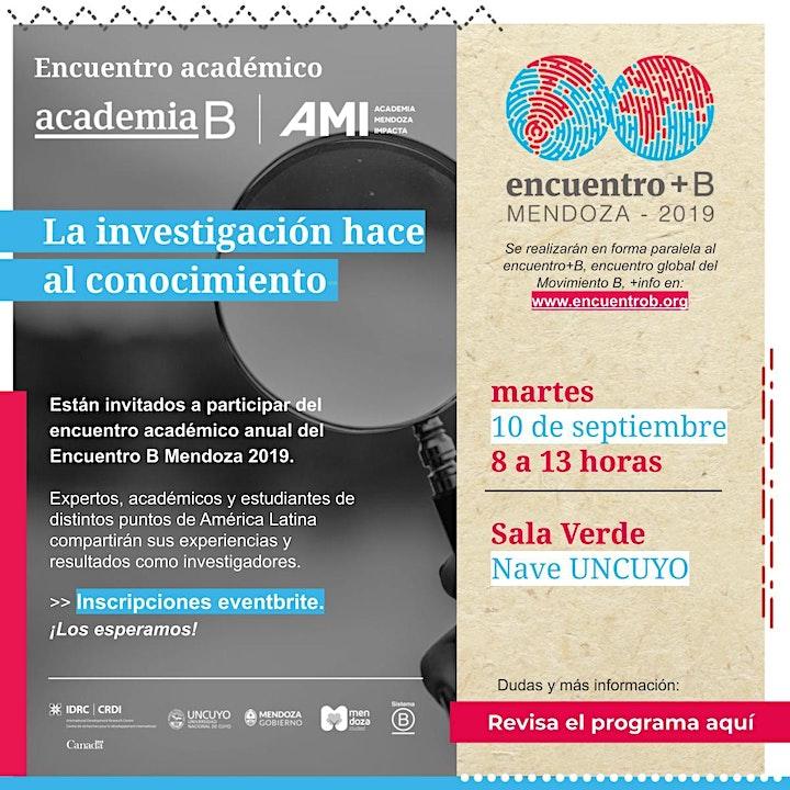 """Imagen de Encuentro Académico """"La Investigación Hace al Conocimiento"""""""