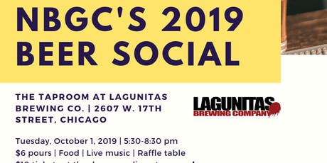 NBGC's 2019 Beer Social @  Lagunitas' TapRoom tickets