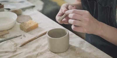 Intro to Handbuilding Air Dry Clay with Becca Flis