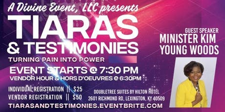 Tiaras & Testimonies: Turning Pain Into Power tickets