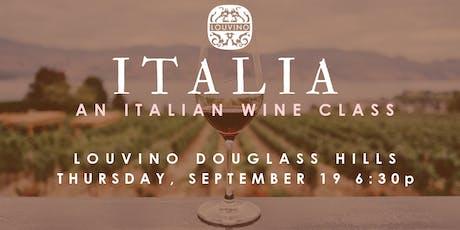 LouVino Douglass Hills: An Italian Wine Class tickets