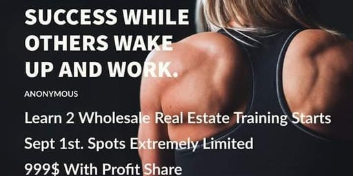 1 On 1 Real Estate Wholesale Training
