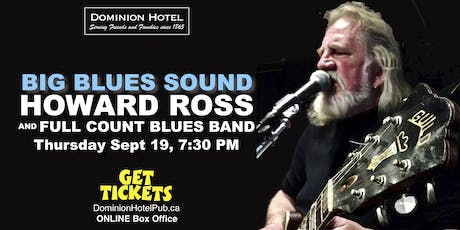 Howard Ross and the Full Count Blues Band tickets