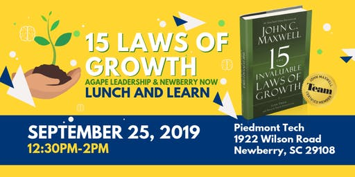 Lunch & Learn: 15 Laws of Growth