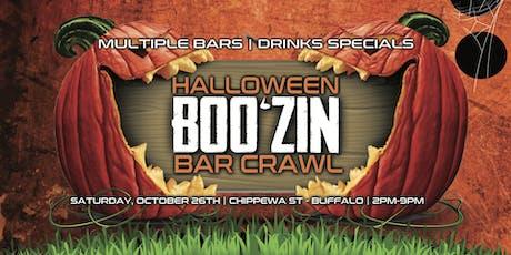 2019 Halloween Boo'zin Bar Crawl tickets