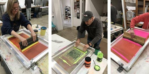 *Sold Out - Beginning Screen Printing Class