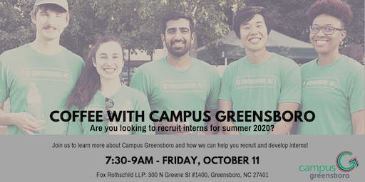 Coffee with Campus Greensboro