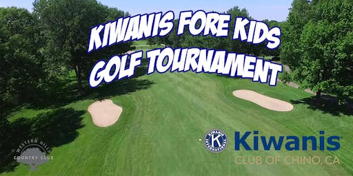 Kiwanis Fore Kids Golf Tournament 2019