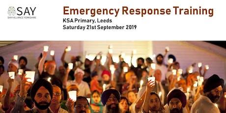 Emergency Response Training - Saturday 21st September 2019 tickets